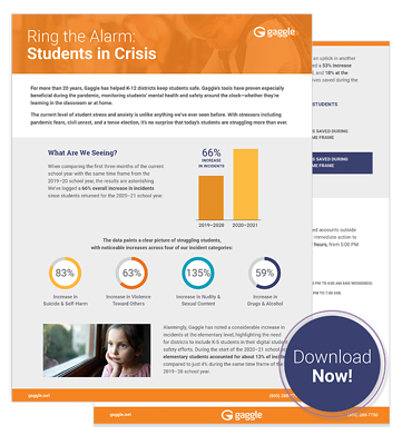 Ring the Alarm: Students in Crisis