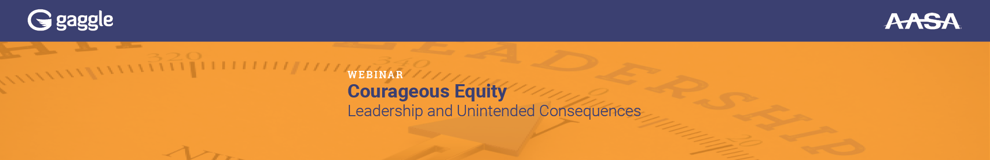 Courageous Equity: Leadership and Unintended Consequences