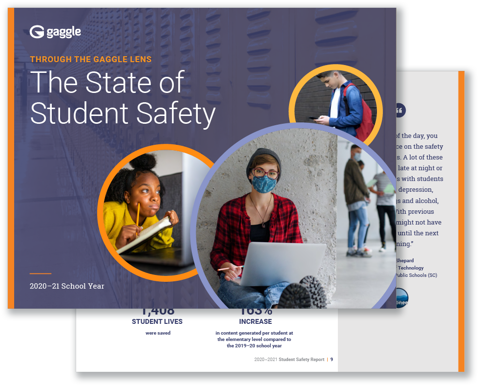 Through the Gaggle Lens: The State of Student Safety